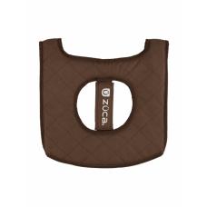 Мягкое сиденье - бирюзовое/коричневое